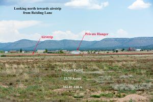 land parcels for sale near private airstrip in arizona